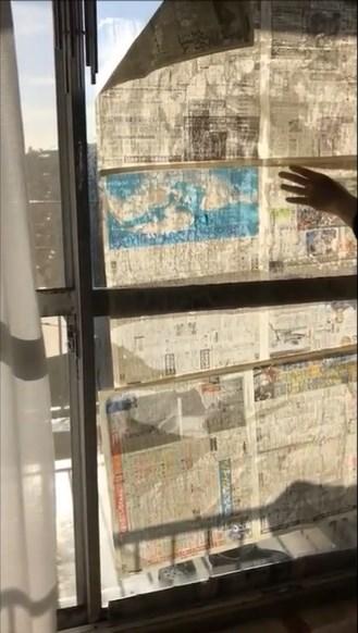 窓 ガラス 掃除 新聞紙