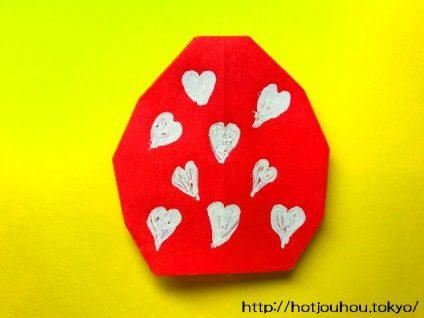 イースターエッグの折り紙