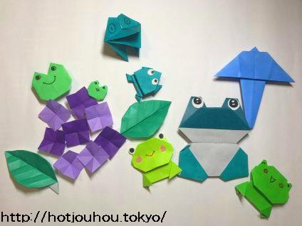 作り方 折り紙 カエル の 折り紙でカエルの作り方!ぴょこぴょこと跳ねるぴょこたんカエルで競争しよう~