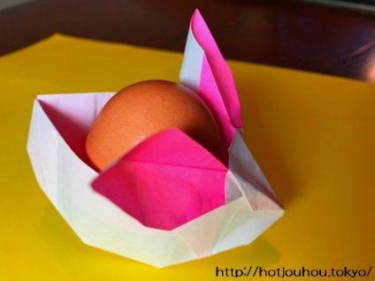 うさぎの折り紙の折り方
