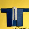 はっぴの折り紙