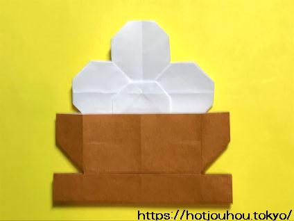 お月見団子を折り紙で折る方法