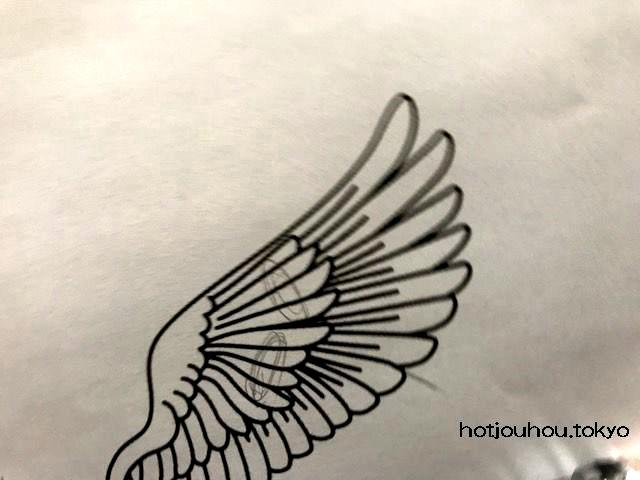 黒板アートで羽の簡単な書き方を紹介します文化祭や卒業式に 暮らし
