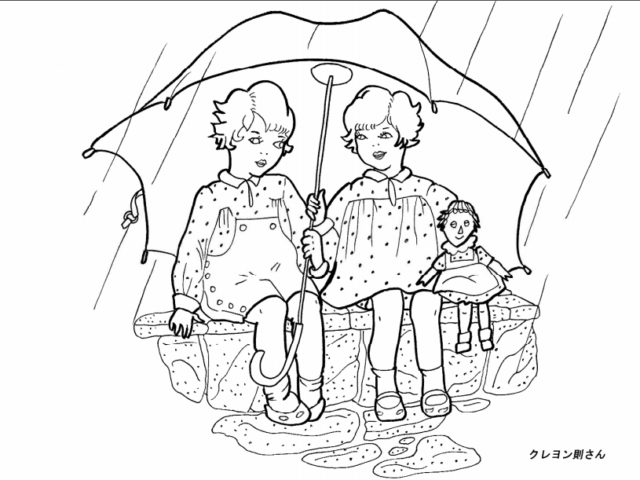 6月の塗り絵【高齢者向け】無料でもらえる!おすすめの51選