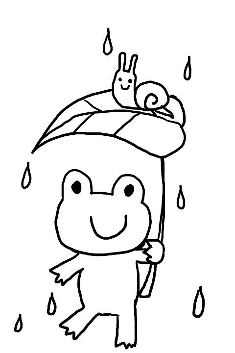 カエルの塗り絵 簡単 難しいものを総ざらえの無料サイト大紹介 暮らしの情報局