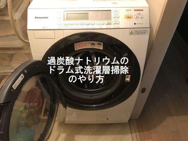 過炭酸ナトリウム,洗濯槽,ドラム式,使い方,漂白,つけおき
