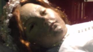 動画,サンタイノセンシア,父親,殺された理由,なぜ,目を開く,少女ミイラ,謎, 直撃!シンソウ坂上